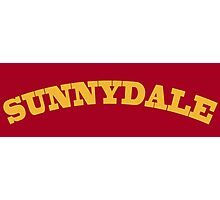 Sunnydale Gym Photographic Print
