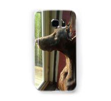 Watchful Dobe Samsung Galaxy Case/Skin