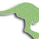Green Kangaroo by Storm Designs