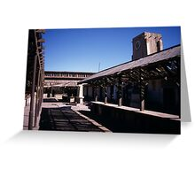 Humberstone marketplace Greeting Card