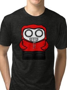 Tim In Red Tri-blend T-Shirt