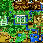 Zelda Link To The Past Map by Dalyz