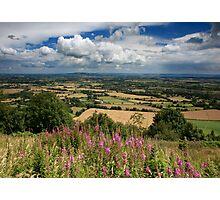 Malvern Hills: July Photographic Print