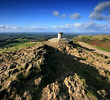 Malvern Hills: Worcestershire Beacon by Angie Latham