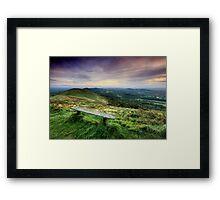 The Malvern Hills: Elgar's Inspiration Framed Print