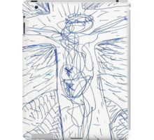 FOUR TIMES XED(C2011)(pen drawing scan) iPad Case/Skin