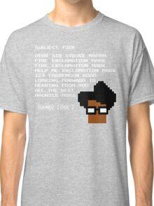 Subject Fire Moss T Shirt Classic T-Shirt