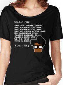 Subject Fire Moss T Shirt Women's Relaxed Fit T-Shirt