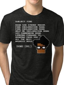 Subject Fire Moss T Shirt Tri-blend T-Shirt