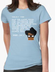 Subject Fire Moss T Shirt Womens Fitted T-Shirt