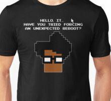 8 Bit Retro Moss Unexpected Reboot T Shirt Unisex T-Shirt