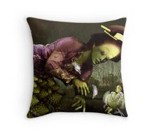 The Peranakan Throw Pillow