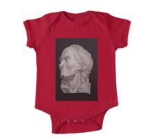 Voltaire Bust Painting One Piece - Short Sleeve