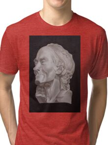 Voltaire Bust Painting Tri-blend T-Shirt