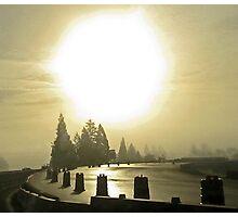 fog + flare Photographic Print