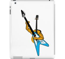 Acoustic playing electric iPad Case/Skin