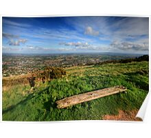 The Malvern Hills: Worcestershire View Poster