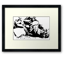 Parade's end - the trench Framed Print