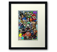 Video Game History Framed Print