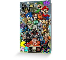 Video Game History Greeting Card