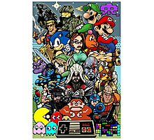 Video Game History Photographic Print