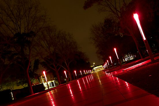 UNSW at night 02 by Daniel Pua