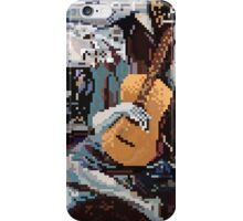 The Old Guitarist iPhone Case/Skin
