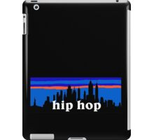 Hip Hop, NYC skyline silhouette iPad Case/Skin