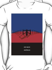 Kate at the Fence Line T-Shirt
