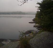 Misty Lake, Muskoka by squidlint