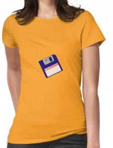 Blank Floppy Womens Fitted T-Shirt