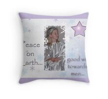 angelical Throw Pillow