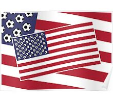 United States of Soccer Poster
