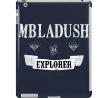 Mbladush De Explorer iPad Case/Skin