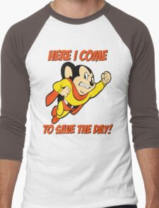 Mighty Mouse Here I Come To Save The Day T Shirt Men's Baseball ¾ T-Shirt