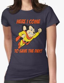 Mighty Mouse Here I Come To Save The Day T Shirt T-Shirt