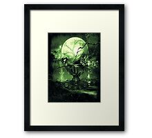 The Greenz of the Crystal Ball  Framed Print
