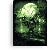 The Greenz of the Crystal Ball  Canvas Print