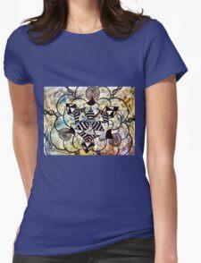 Original Art Womens Fitted T-Shirt