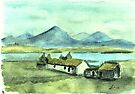 The Irish cottage by Alan Hogan