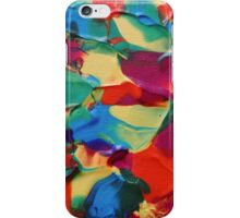 """Psychotropical"" original abstract artwork by Laura Tozer iPhone Case/Skin"