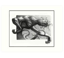 Tentacle Horror Art Print