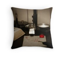 Apothecary 10 Throw Pillow