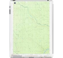 Maine USGS Historical Map Rocky Mountain SW 102921 1987 24000 iPad Case/Skin