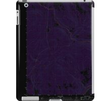 Maine USGS Historical Map Rocky Mountain SW 20110906 TM Inversion iPad Case/Skin