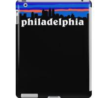Philadelphia, skyline silhouette iPad Case/Skin