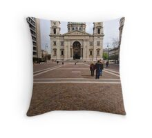 Budapest Architectural 02 Throw Pillow