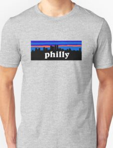 Philly, skyline silhouette T-Shirt