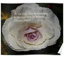 Thomas Brooks Quote Poster