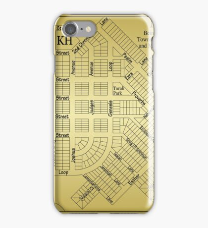Map Of Scroll City iPhone Case/Skin
